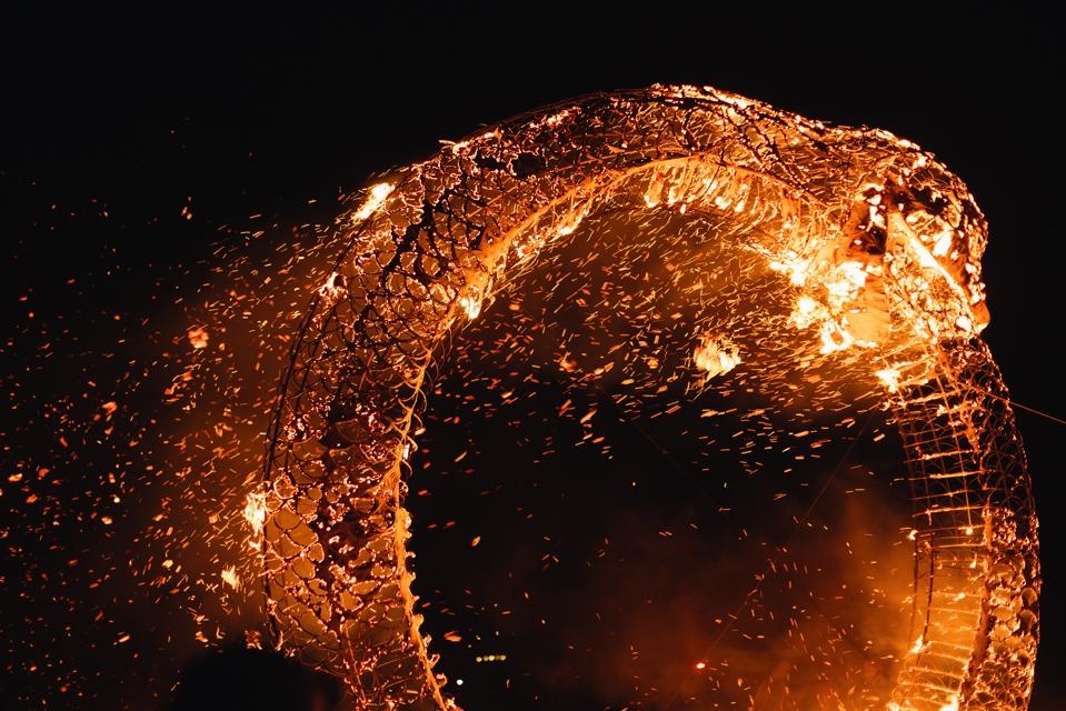 Lukas Renlund Ouroboros burning 2014